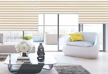 Layered Shades | Malibu Blinds & Shades, LA